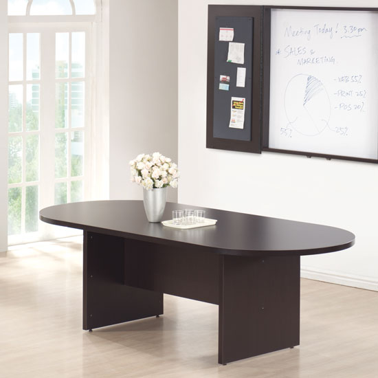 Office Source 8' RaceTrack Shaped Conference Table PL136