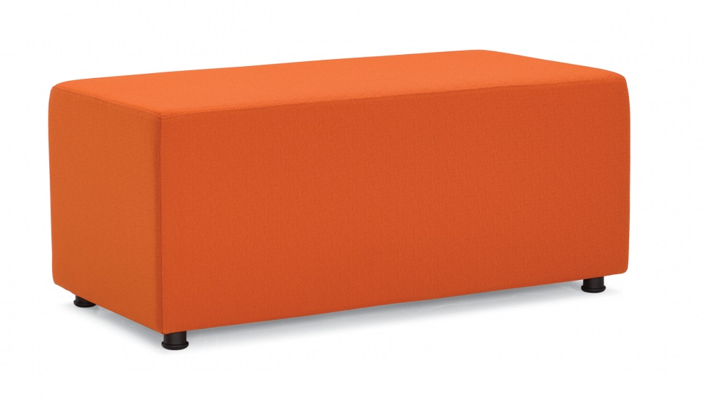 Offices To Go Rectangular Modular Ottoman OTG13011