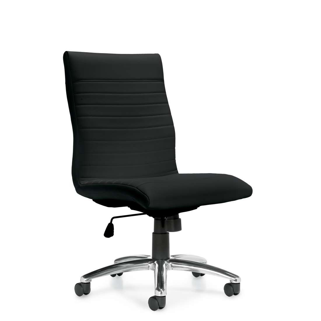 OTG Luxhide Executive Armless Chair #OTG11732