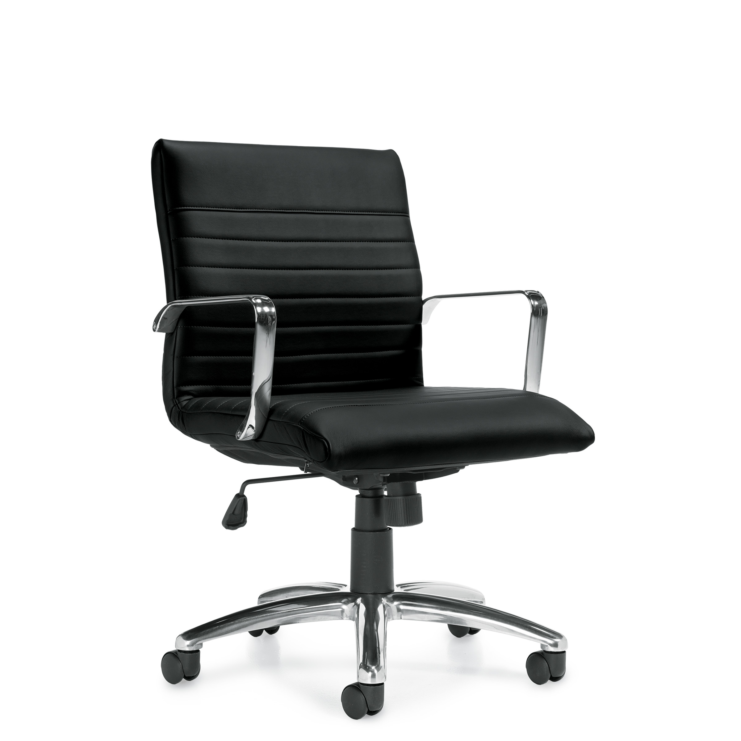OTG Mid Back Luxhide Executive Chair #OTG11734B