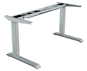 Open Plan Powered Adjustable Height Table Base #E-Table-48-72-J.XX