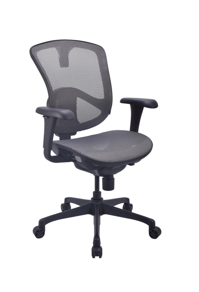 Open Plan Elevation Series Relax Mesh Chair OPS-B1