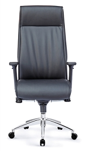 Open Plan Tranquility High Back Executive Leather Chair #9838A.L