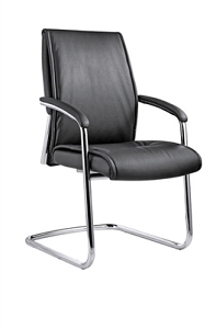 Open Plan Tranquility Faux Leather Guest Chair #OPS-9838D