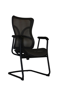 Open Plan Elevation Series Mesh Engage Guest Chair #OPS-C8