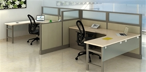 Open Plan 2 Pack 6' x 8' Typical Workstations TYPICAL 6