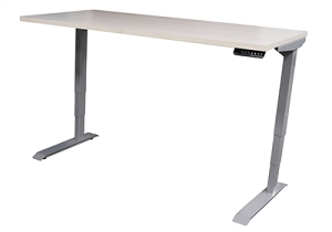 Open Plan Powered Adjustable Height Table Base w/30