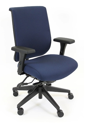 RFM Seating Tech 1400 Managers Upholstered High Back Chair - #1445