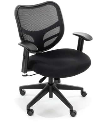 RFM Seating Essentials Swivel Task Chair - Mesh Back #160