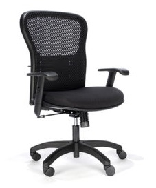 RFM Seating Essentials Swivel Task Chair - Mesh Back #161