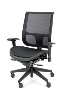 RFM Seating Tech 1400 Managers High Back Chair - Mesh Seat & Back - #1455