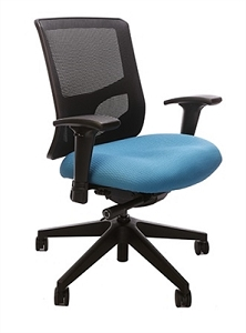 RFM Seating Evolve Medium Back Managers Chair - Mesh Back #15114