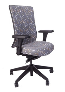 RFM Seating Evolve Upholstered High Back Managers Chair #15414