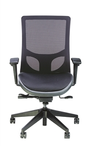 RFM Seating Evolve High Back Managers Chair - Mesh Seat & Back #1565