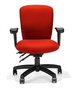 RFM Seating Rainier 3600 Medium Back Chair - #R2