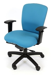 RFM Seating Rainier 3600 Medium Back Chair - #R6