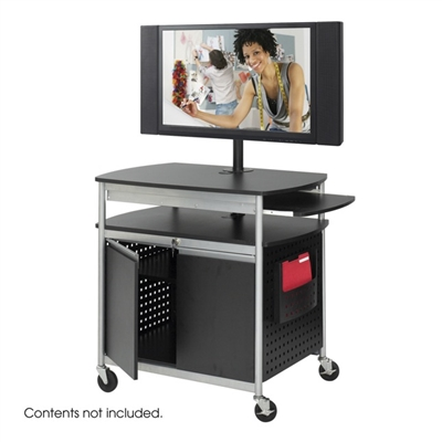 Safco Scoot Flat Panel Multimedia Cart #8941