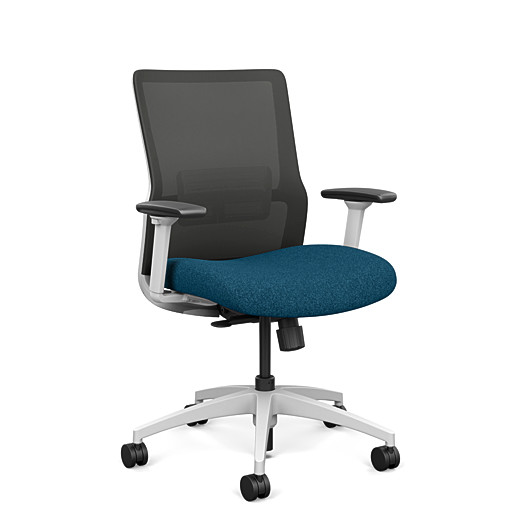 Sitonit Novo Midback With Arms Home Edition Chair H1033-BK1-MB-AR4