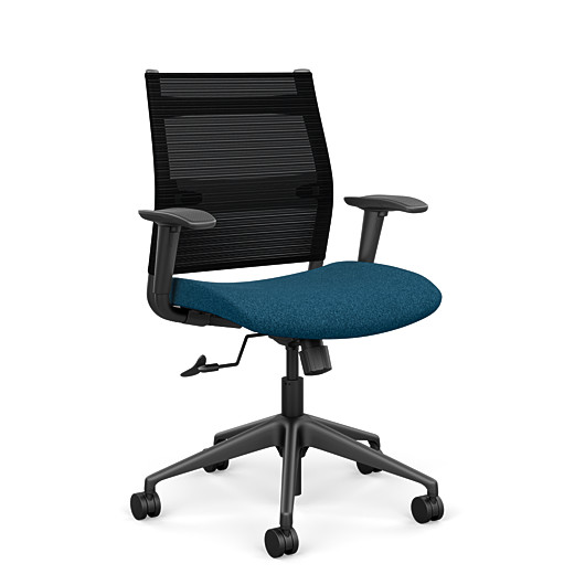 Sitonit Wit Midback With Arms Home Edition Chair H2222-MB-AR4