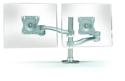 Systematix Dual-Screen, Double Extension Monitor Arm #7920