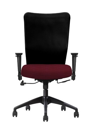 Allseating Inertia Mesh Back Highback Task Chair 77189