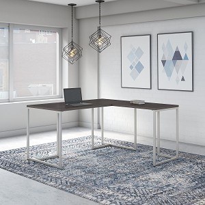 Office by kathy ireland® Method 60W L Shaped Desk with 30W Return