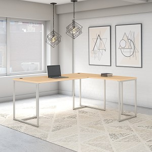 Office by kathy ireland® Method 72W L Shaped Desk with 30W Return