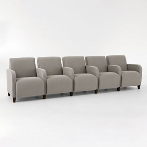 Lesro Siena Series 5 Seats With Center Arms #SN5403G3