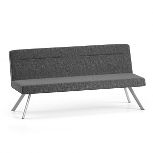 Lesro Willow Series Armless Sofa #WL3502G5