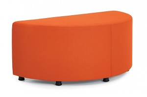 Offices To Go Half Round Modular Ottoman OTG13008
