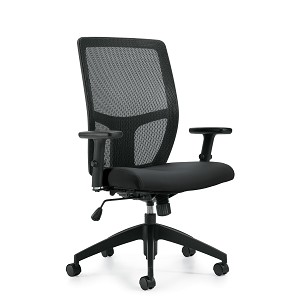 Offices To Go Mesh Back Synchro-Tilter Chair OTG3191