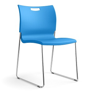 Sitonit Rowdy Multi-Purpose Armless Poly Stack Chair